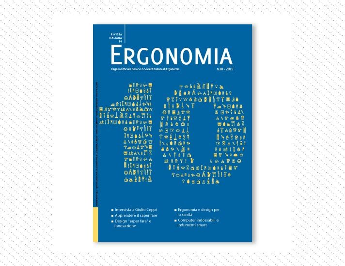 Rivista Italiana di Ergonomia, n.10; Anno 2015