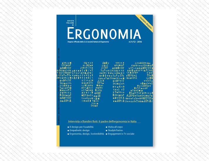 Rivista Italiana di Ergonomia, n.11/12; Anno 2016