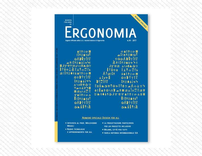 Rivista Italiana di Ergonomia, n.14; Anno 2016