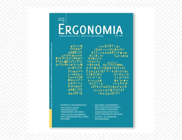 Rivista Italiana di Ergonomia, n.16; Anno 2018