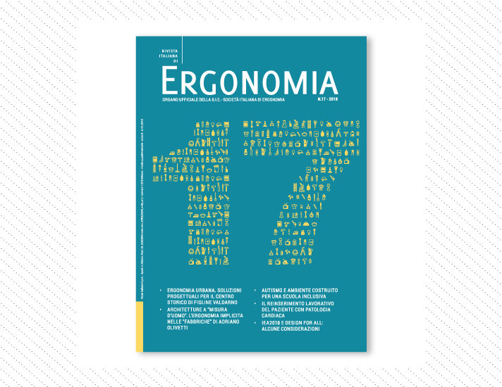 Rivista Italiana di Ergonomia, n.17; Anno 2018
