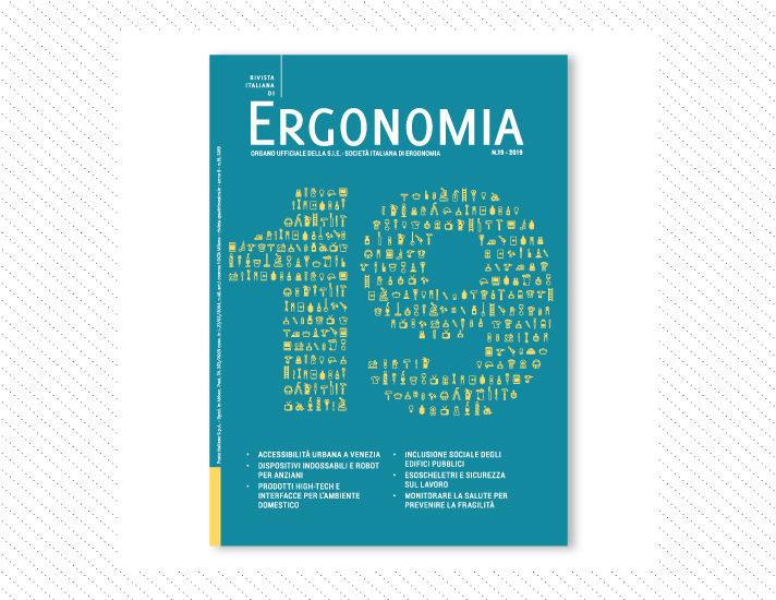 Rivista Italiana di Ergonomia, n.19; Anno 2019