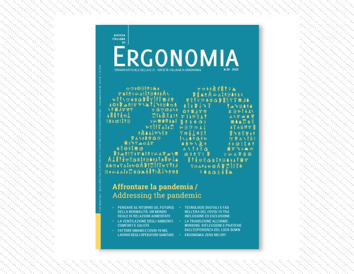 Rivista Italiana di Ergonomia, n.20; Anno 2020