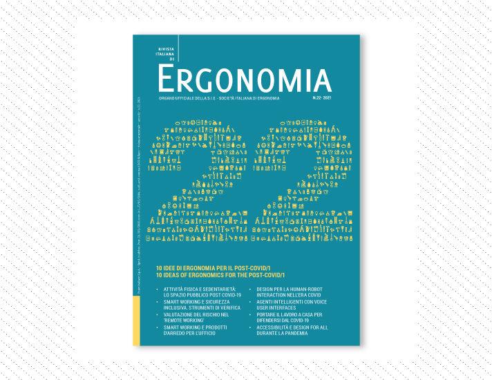 Rivista Italiana di Ergonomia, n.22; Anno 2020