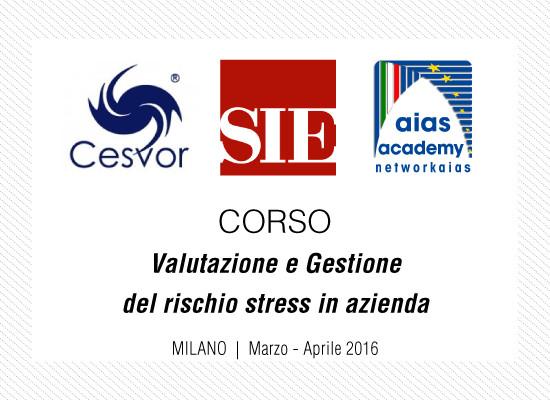 Corso di Valutazione e Gestione del rischio stress in azienda