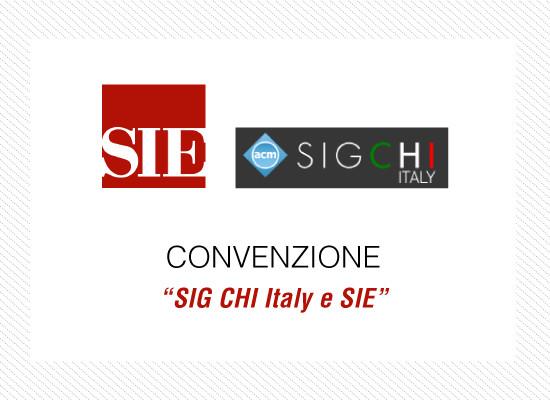 Convenzione SIE - CHI Italy