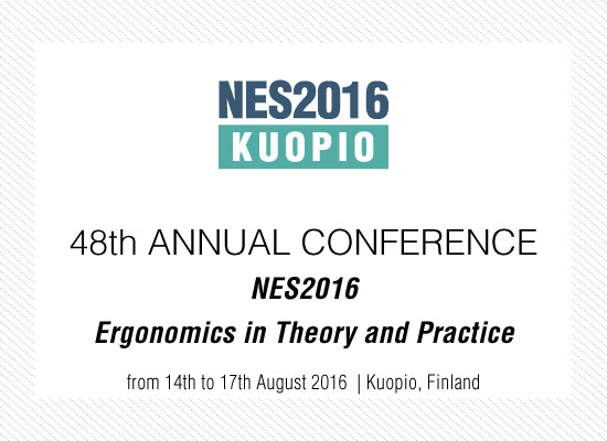 Nordic Ergonomics and Human Factors Society's (NES) 48th annual conference