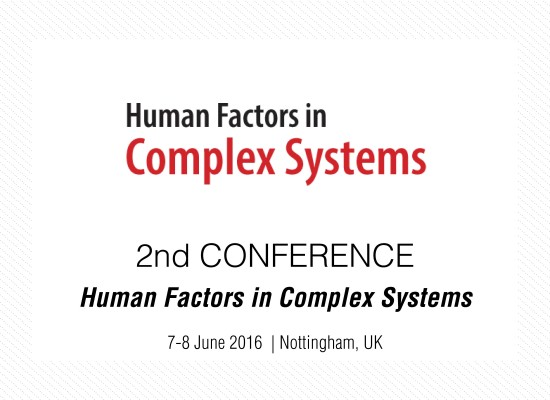 Human Factors in Complex Systems
